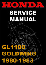 Honda Goldwing GL1100 Workshop Manual