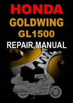 Honda Goldwing GL1500 Workshop Manual